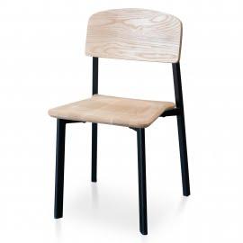 Jake Dining Chair Matt Black