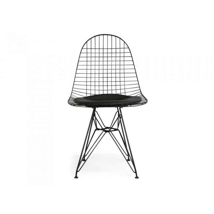 Joshua Wire Dining Chair Black