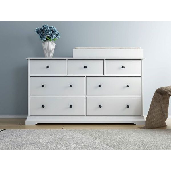 Greyson White Chest Drawers Change Table