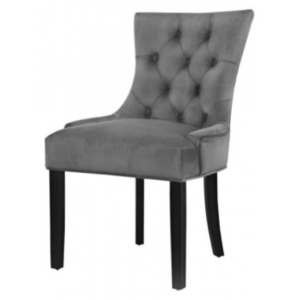 Phoebe French Provincial Dining Chair Grey Set of 2