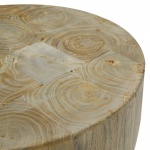 Shelby Wooden Low Stool