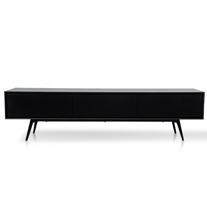 Sally Entertainment Unit Black
