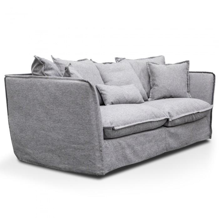Saskia 3 Seater Sofa Grey