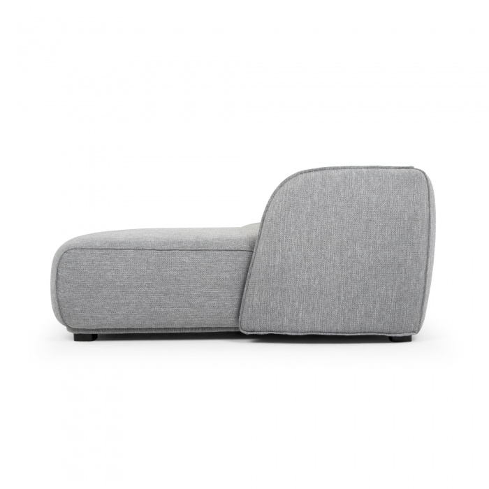 3 Seater Right Chaise Sofa Grey
