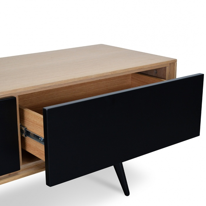Alla Entertainment TV Unit Black