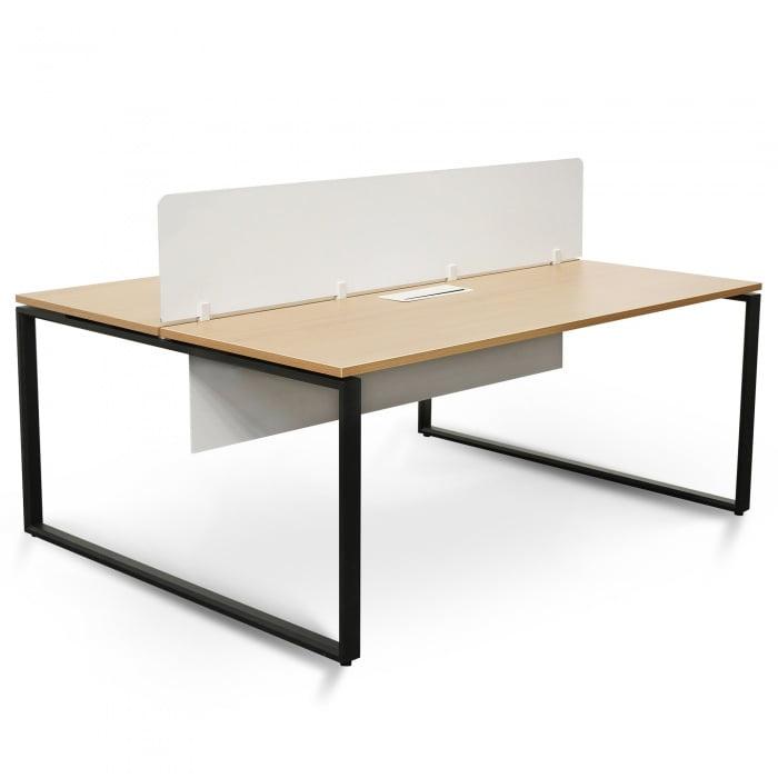 Alexia Double Desk Oak