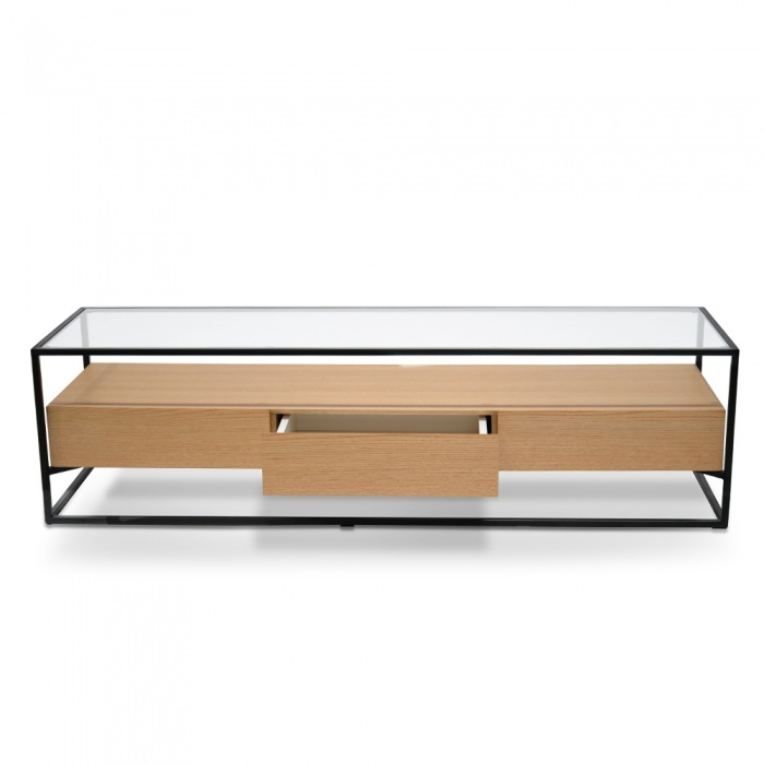 Casper Entertainment TV Unit - Oak
