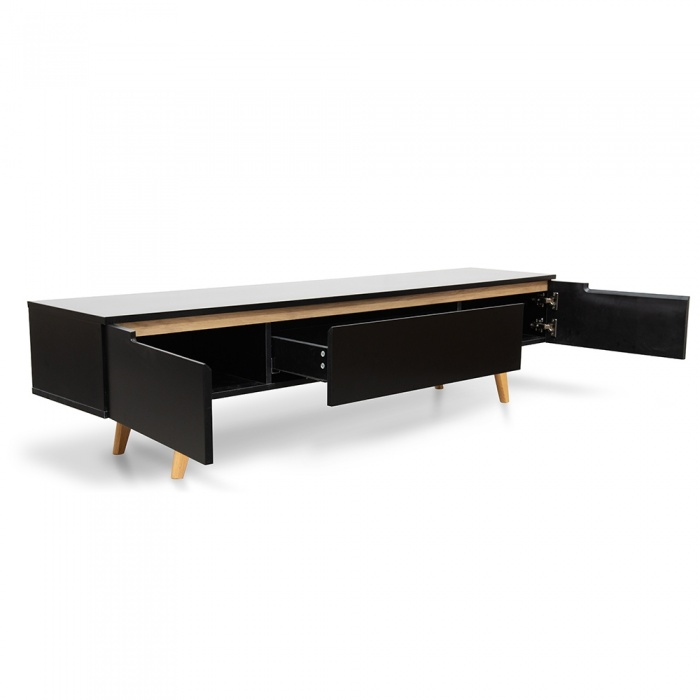 Mathilde Scandi TV Entertainment Unit - Black