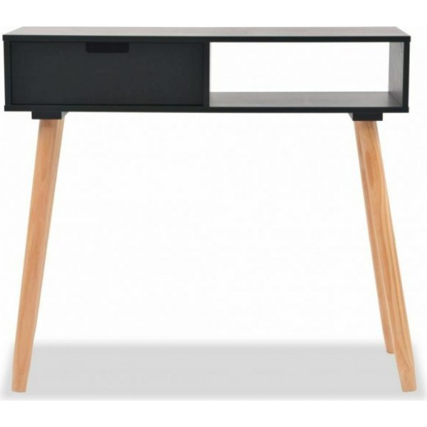 Jorgan Black Desk Console Table