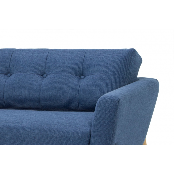 Margarethe 3 Seater Sofa Navy