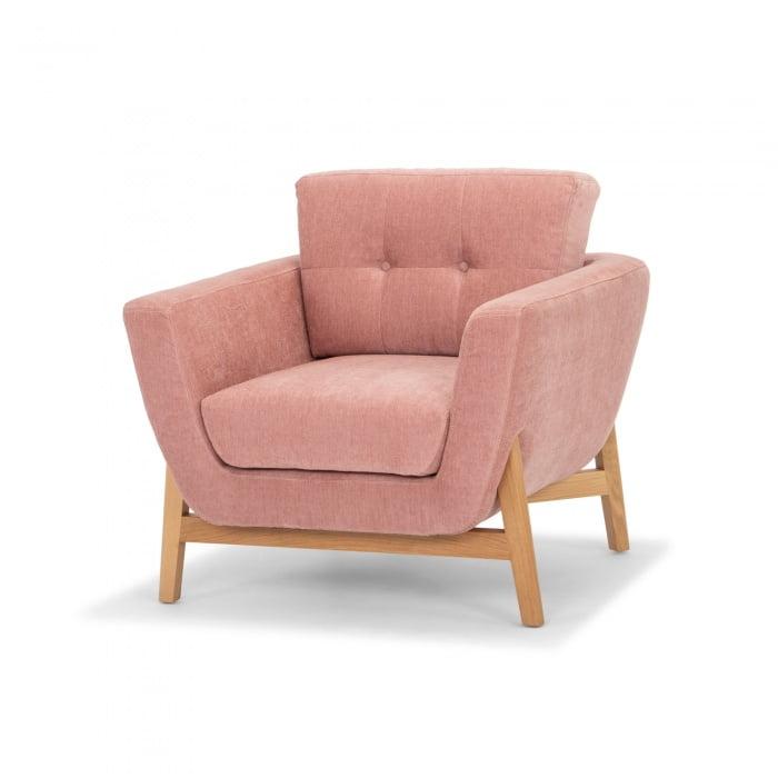 Cayman Armchair Light Pink
