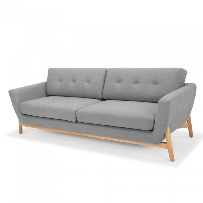 Whitby 3 Seater Sofa Charcoal