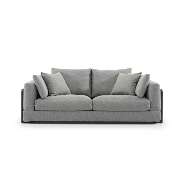 Alison 3 Seater Sofa Grey