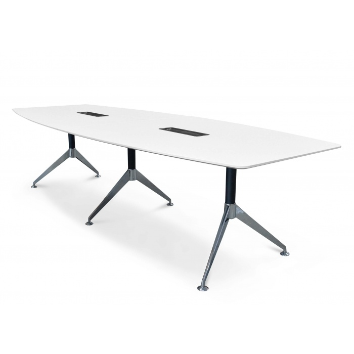 Classen Boardroom Office Table White