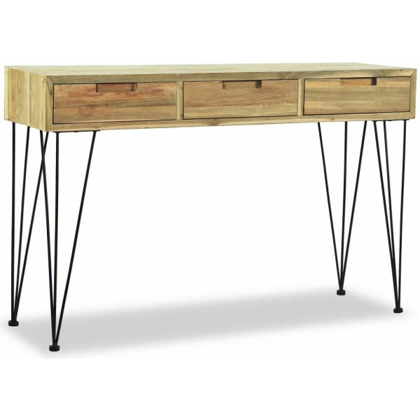 Anton Wooden Desk Console Table