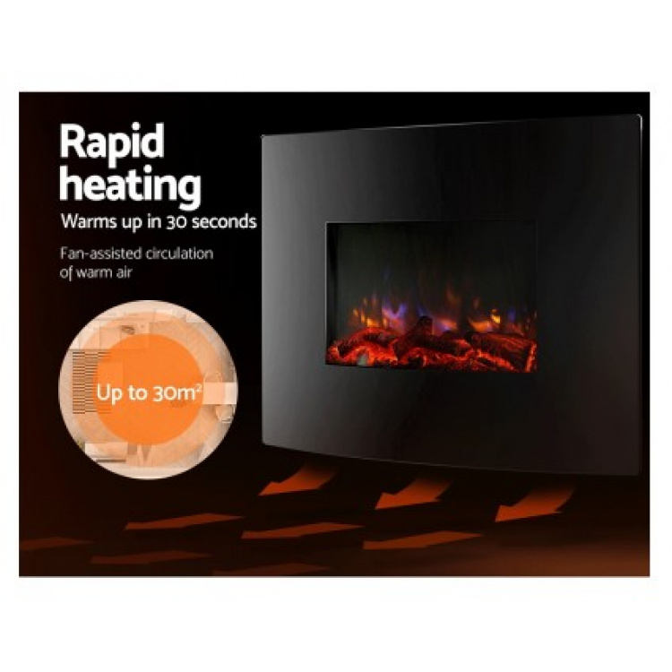 Flame Effect Wall Heater