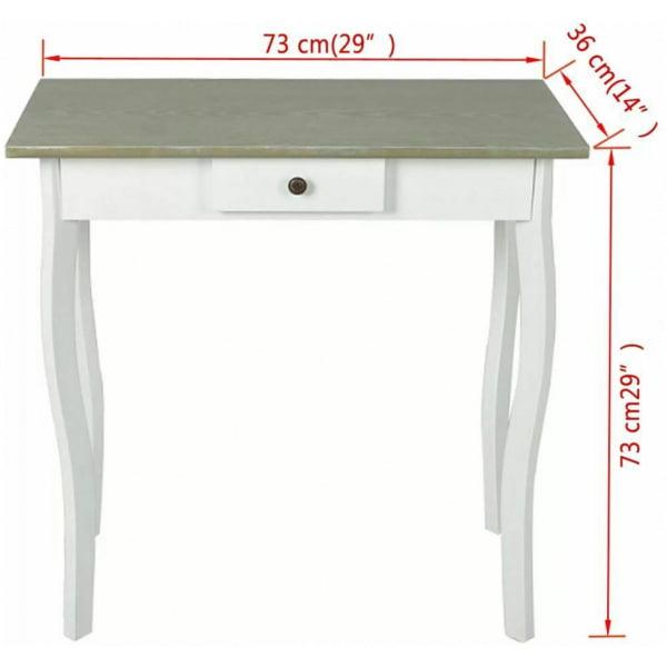 Gillian Desk White