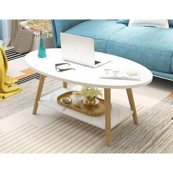 Laura Marble Coffee Table