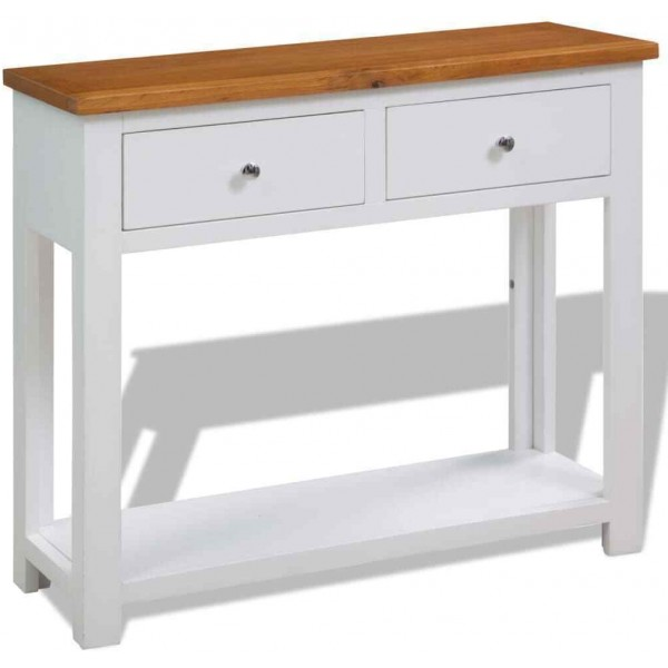 Lola Console Table White