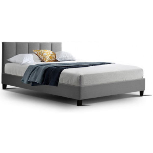 Hannah King Single Bed Grey