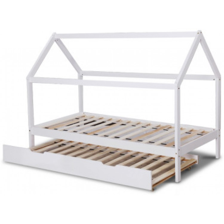 Ulrike Trundle Bed White