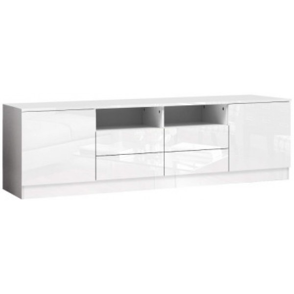 Mateo Entertainment TV Unit White Gloss