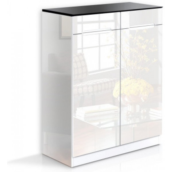 Shiloah Shoe Storage Cabinet White