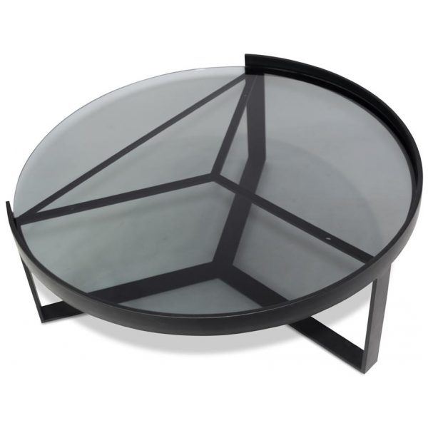 Stefania Coffee Table Round Black