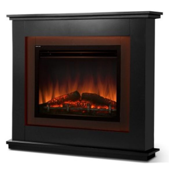 Harris Electric Fireplace Flame Effect – Black