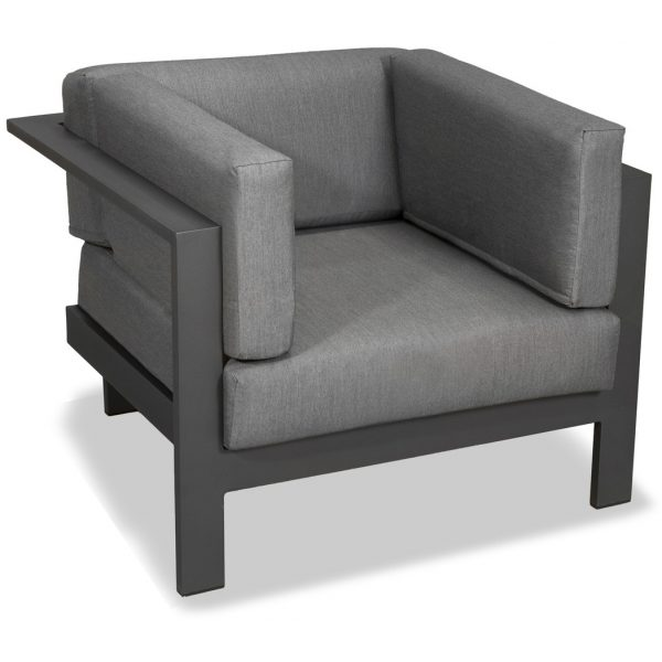 Trosa Outdoor Lounge Chair Grey