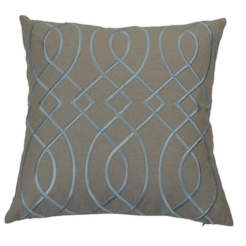 Bianca Sky Blue Cushion Cover | Theo and Joe