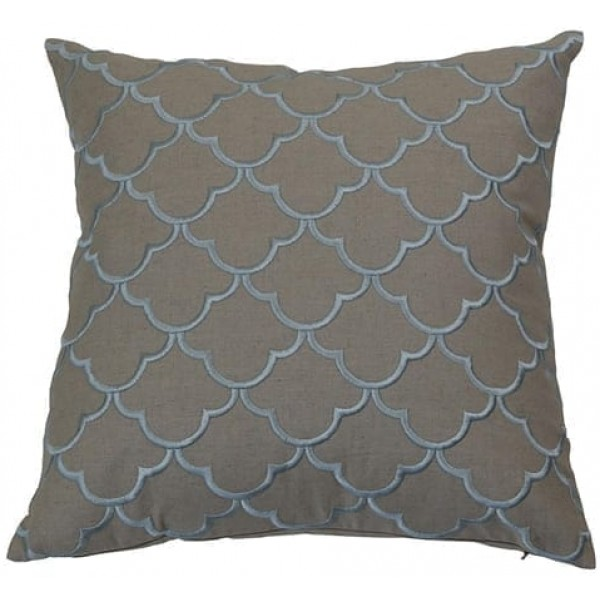 Margaret Sky Blue Cushion Cover | Theo and Joe