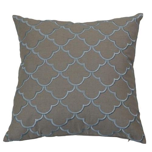 Margaret Sky Blue Cushion Cover | Theo and Joe