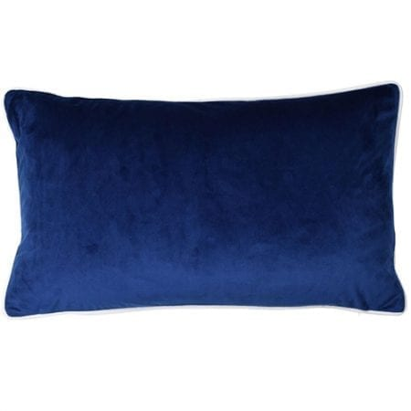 navy cushion cover theo
