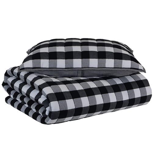 Como Quilt Comforter Set   Theo and Joe