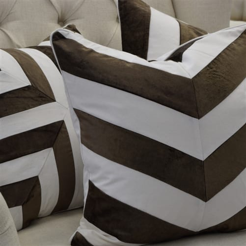 Jeff Chocolate Stripe Cover