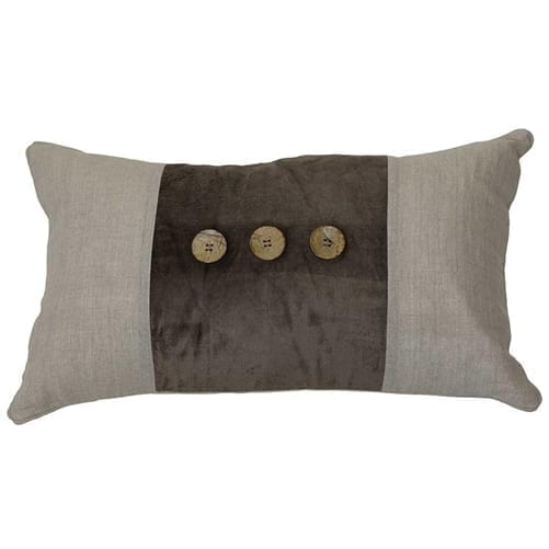 Benjamin Chocolate Rectangle Cushion Cover