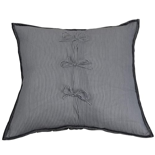 Audrey Silver Pillow Cushion Cover