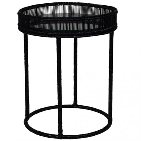 Borneo Side Table Black