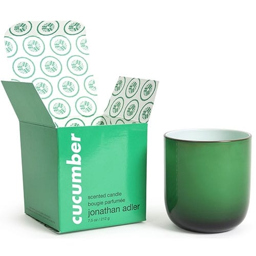 Jonathan Adler Pop Scented Candle | Cucumber | Green