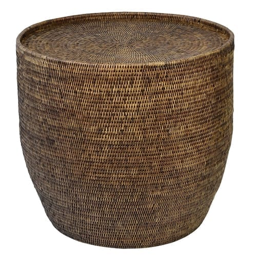 Plantation Side Table Round
