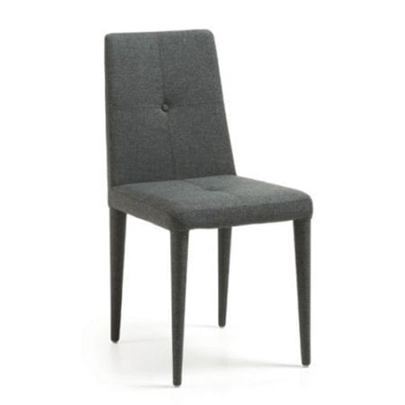 Grace Dining Chairs Dark Grey 2 Set