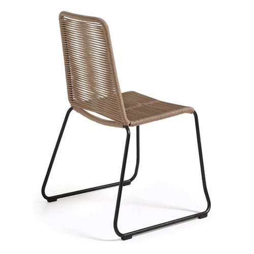 Meagan Chair Metal Frame | Beige | Set of 4
