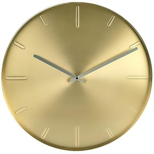 Karlsson Belt Wall Clock Brass