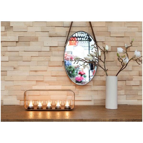 Koh Living Brass Oval Mirror Medium