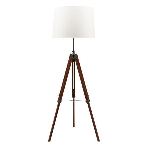 Hartigan Floor Lamp White
