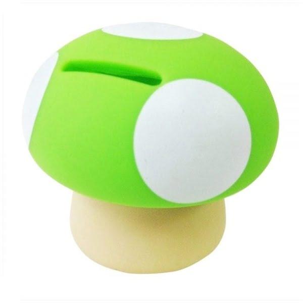 Green Mushroom Money Box