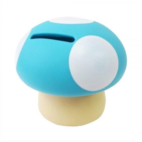 Blue Mushroom Money Box