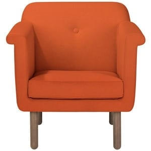 Orla Kiely Accent Chair Orange