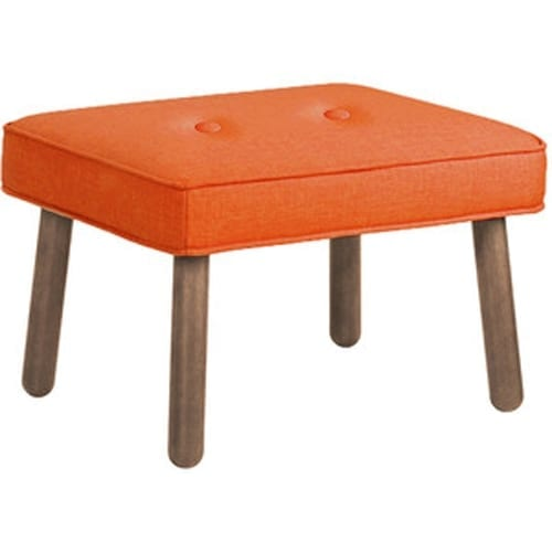 Orla Kiely Ottoman Orange